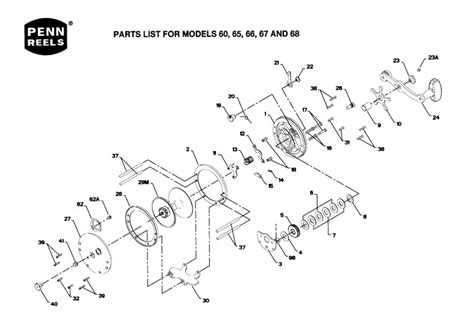 penn reel diagrams penn reels schematics penn 4000 parts list and diagram