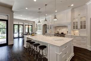 open concept kitchen ideas this white open kitchen concept the home touches