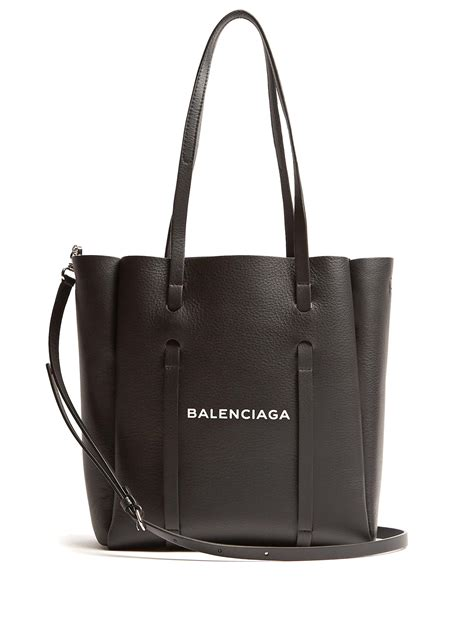 lyst balenciaga everyday tote xs in black