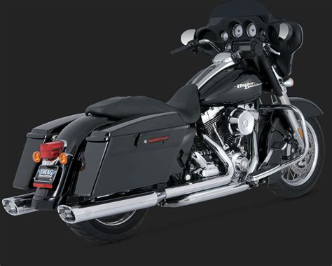 vance and hines dresser duals chrome exhaust 2009 harley