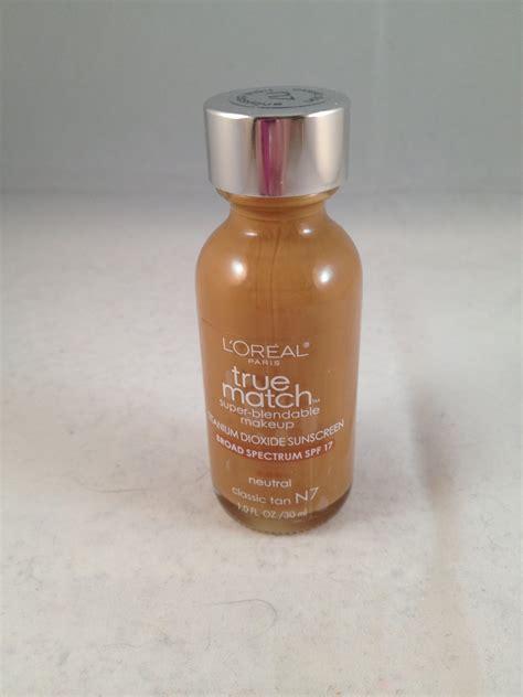 Loreal True Match Powder Foundation l oreal true match blendable makeup liquid foundation n7 classic