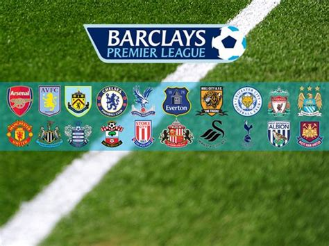 2014 2015 Barclays Premier League Teams | premier league toto 2014 15 2