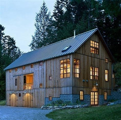 Barn Style Homes | rustic barn style home unusual home design pinterest