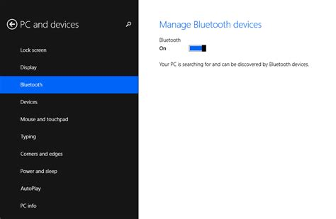 how to connect a windows 8 1 device to your xbox networking how to turn on off bluetooth on windows 8 1