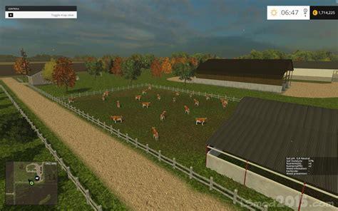 map usa farming simulator 2015 small town america map farming simulator modification