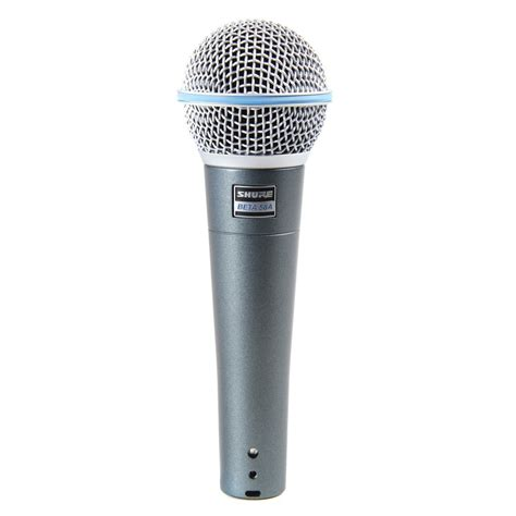 Shure Microhpone Beta 58a Suara Mantap The Vocal shure beta 58a dynamic vocal microphone getinthemix