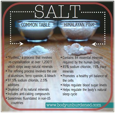 Salt L Side Effects table salt himalayan salt health nutrition