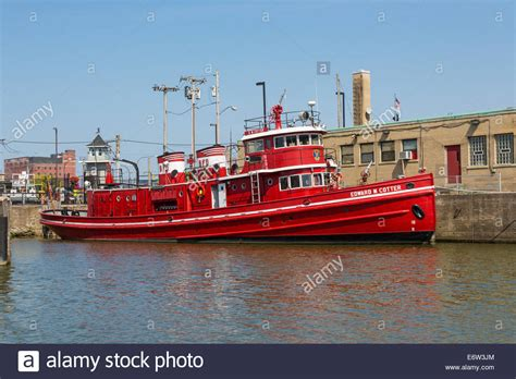 fireboat cotter the fireboat edward m cotter buffalo fire department in