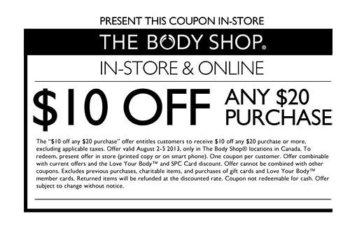 body shop canada printable coupons