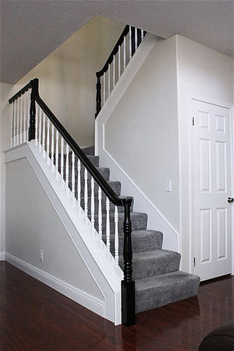 stair banister rails black rail stairs banisters