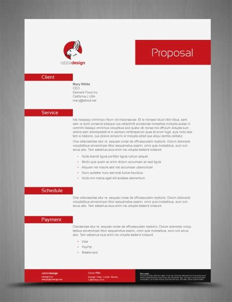 proposal layout template 12 best images about resumes on pinterest curriculum