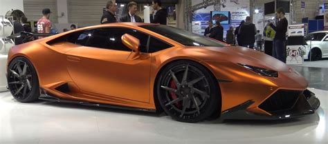 wrapped lamborghini copper wrapped lamborghini huracan gets carbon