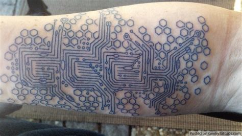 circuit tattoo design ideas on geometric tattoos geometric