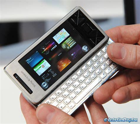 mobile sony ericsson xperia sony ericsson xperia x1 letsgodigital