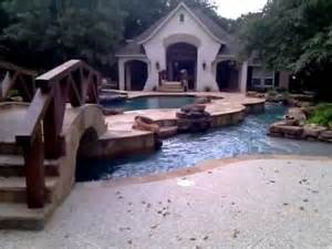 the custom variable speed lazy river pool i built for a