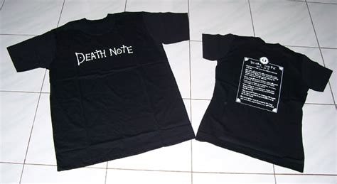 Kaos Note Note 07 by Wts Anime Shirt Jacket Costume Note