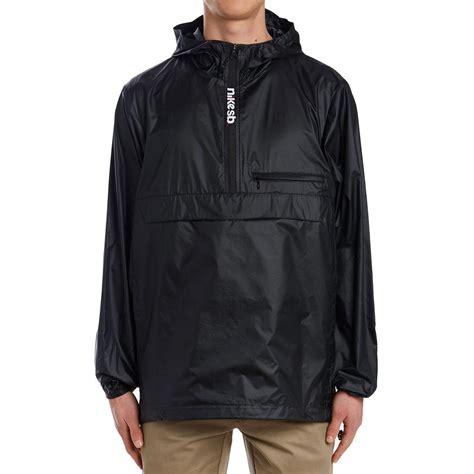Jaket Nike Parka Taslan Black nike sb packable anorak jacket black black