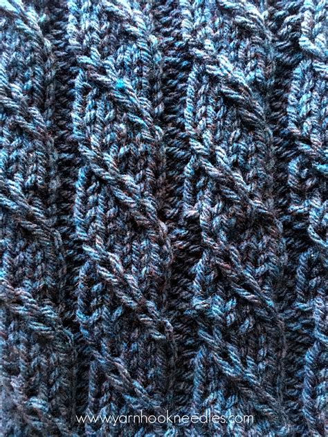 twisted knitting stitches twisted trill knitting stitch with free pattern link