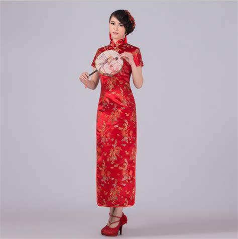 Baju Kerajaan China aliexpress buy new arrival style traditional dress silk satin cheongsam