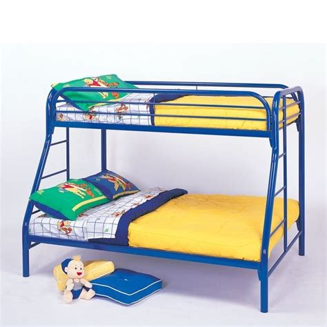 blue bunk bed the coaster bunk beds are great space savers for your kids