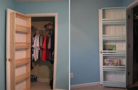 Closet Door Storage Closet Organizers Do It Yourself Plans Newhairstylesformen2014