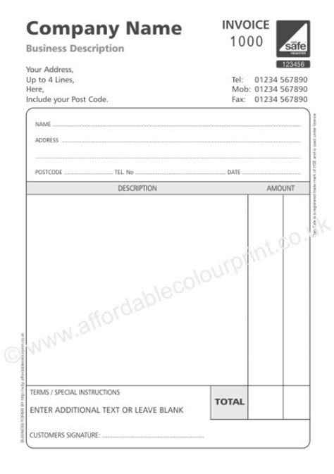 download invoice template uk non vat registered rabitah net