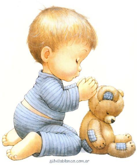 imagenes tiernas rezando ni 241 o rezando edna pinterest infantiles bebe y dibujo