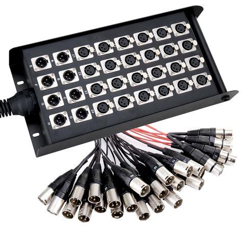 Kabel Multicore pronomic stage emc 24 8 xlr multicore 30 meter