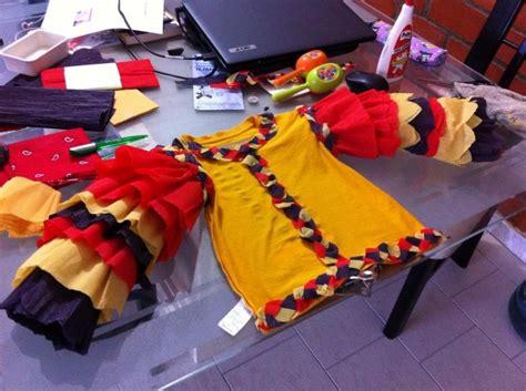 Como Hacer Mangas De Rumbero Papel Crepe | traje de rumbera con papel crepe imagui