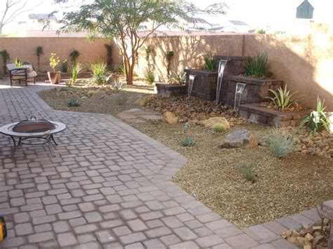 Backyard Landscaping Las Vegas by Backyard Oasis Southwestern Landscape Las Vegas By