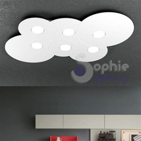 plafoniere design soffitto plafoniera ladario soffitto led acciaio bianco design