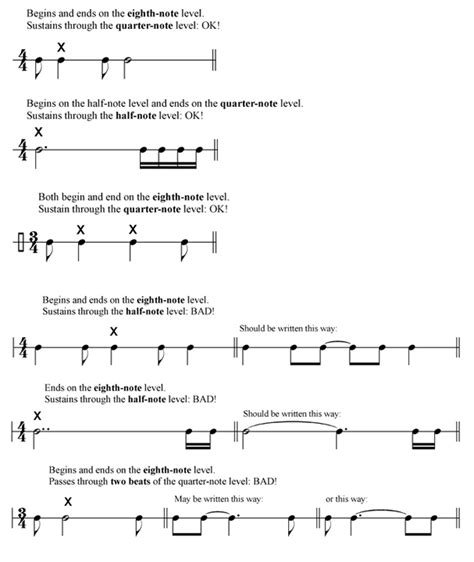 what is a section in music music notation style guide composition departments