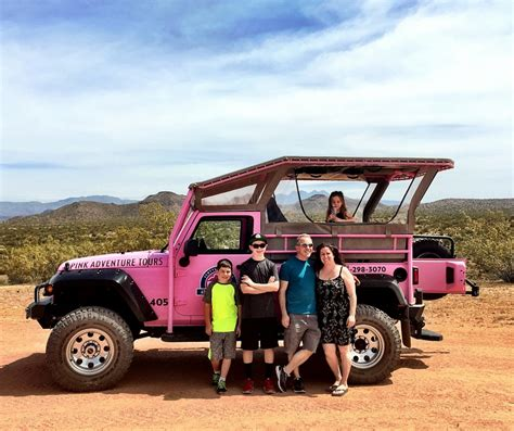 Jeep Tours Scottsdale Pink Jeep Adventure In Scottsdale Arizona Family Review
