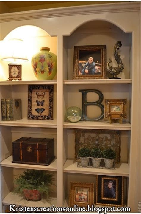 how to decorate shelves by home decor