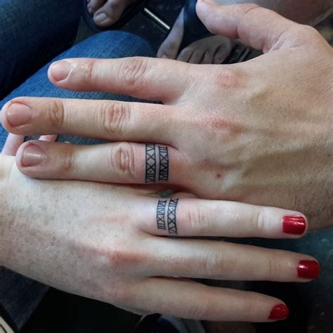 matching wedding tattoos 23 newlyweds who chose tattoos instead of rings