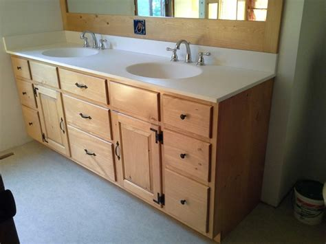 Knotty Pine Vanity Knotty Pine Vanity Contemporary Bathroom Vanities And Sink Consoles Boston By R E