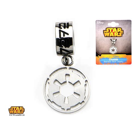 stainless steel numbers meaning stainless steel galactic empire symbol dangle charm