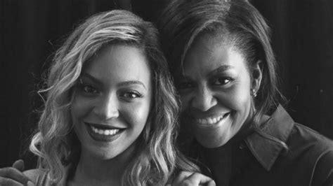 beyonce is in awe of michelle obama abc news michelle obama se transforme en beyonc 233