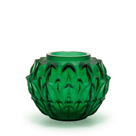 Lalique Green Vase by Cynara Vase Green Lalique Vase Lalique