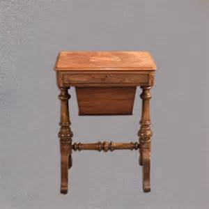 sewing bench antique work table victorian sewing table c1860