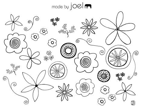 flower coloring sheet made by joel 187 free coloring sheets
