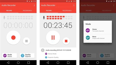 android voice recorder top 7 voice recorder apps for android leawo tutorial center