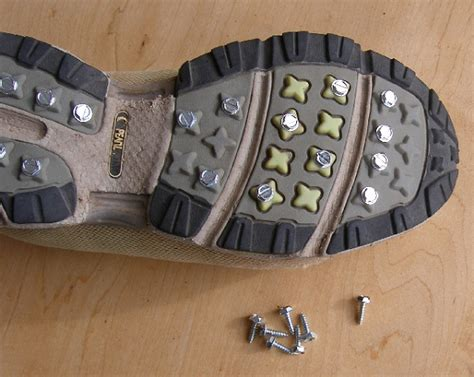 screws in running shoes 20 winter survival hacks to keep you warm cozy