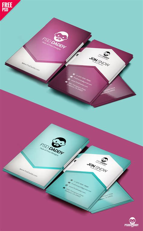 basic business card template psd creative business card psd free psddaddy