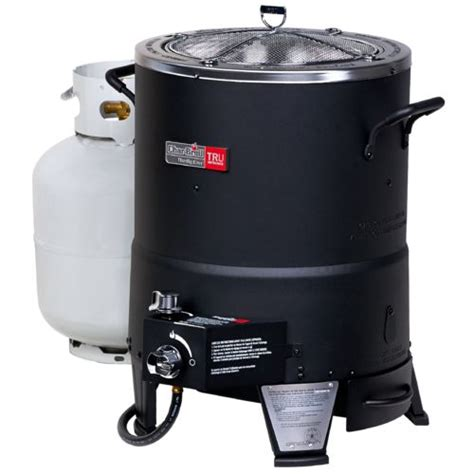 backyard turkey fryer outdoor char broil the big easy oil less propane turkey