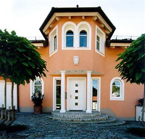 Hausfassade Modern Streichen hausfassade modern farbe olegoff