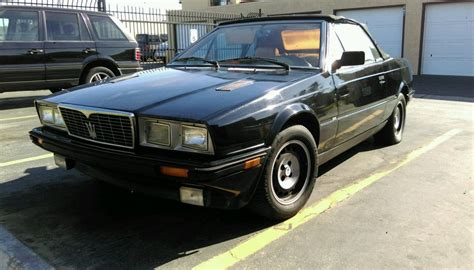 1987 Maserati Biturbo Spyder Zagato Convertible For Sale