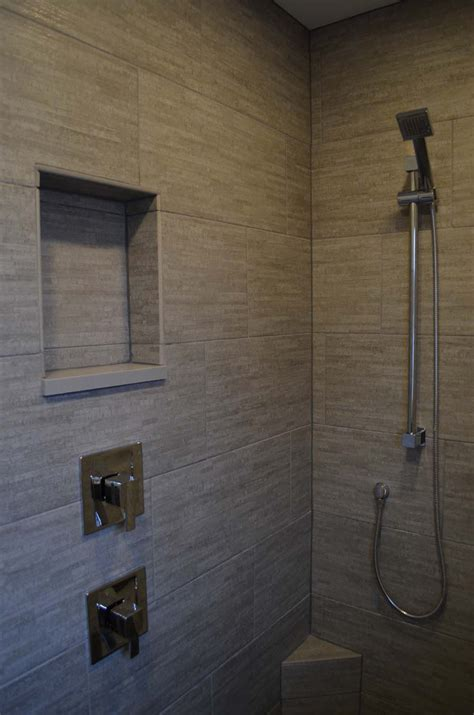 Bathroom Tile Ideas For Shower Walls tub and shower custom homes by tompkins construction
