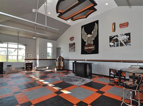 Harley Davidson   Garage Floor Tiles   Canada Mats