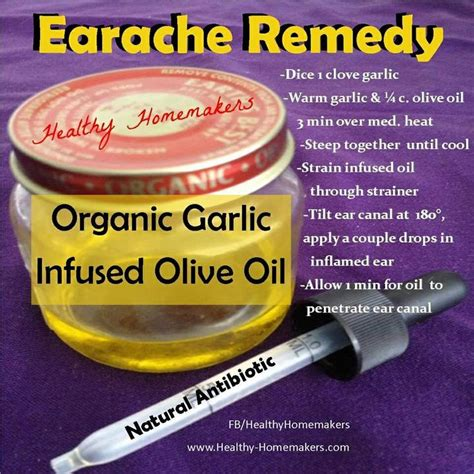 earache home remedy essential oils